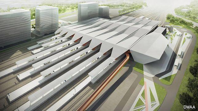 Dworzec Warszawa Zachodnia - wizualizacja