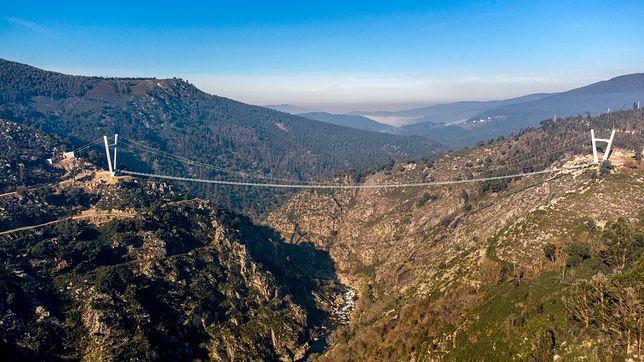 Most w Arouca robi ogromne wrażenie