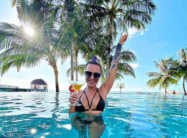 Blanka Lipińska chwali się luksusowym urlopem na Malediwach.
