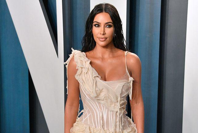 Kim Kardashian opublikowała wpis w mediach społecznościowych