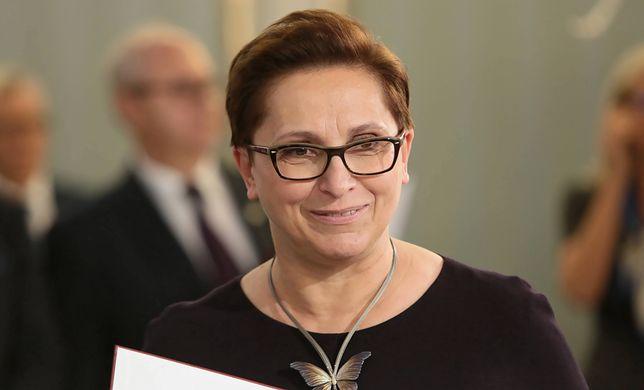 Krystyna Sibińska w WP przyznała, że po oświadczeniu Jarosława Kaczyńskiego policja przekazała jej pismo ws. rzekomego ataku hakerskiego