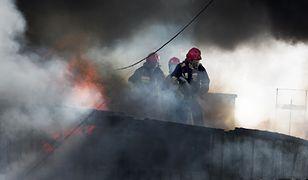 Groźny pożar na Podhalu. Strażacy w akcji