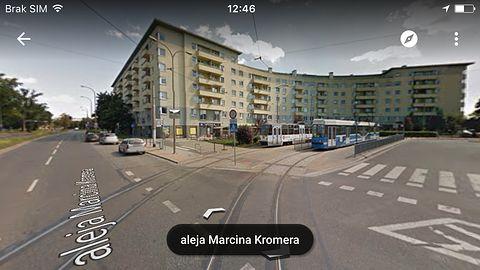 Panoramy 360 stopni wreszcie w Mapach Google na iOS