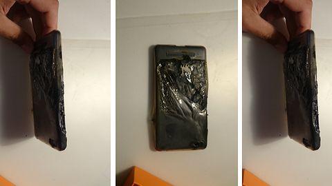 Xiaomi Mi4c wybuchł tuż przy głowie polskiego użytkownika