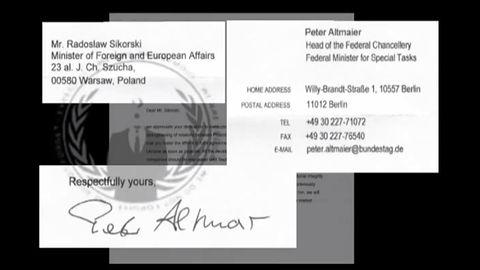 Rzekoma korespondencja w sprawie Ukrainy w rękach Anonimowych