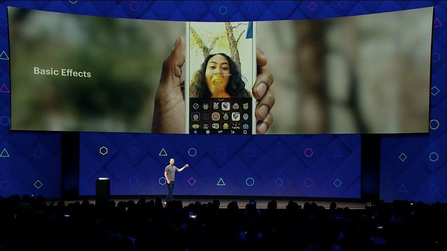 F8: Zuckerberg mówi o rozszerzonej rzeczywistości, jak w 2015 roku