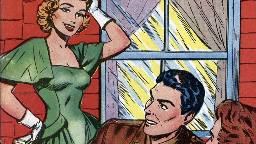 "Okładka ""GI War Brides"", Superior Comic"