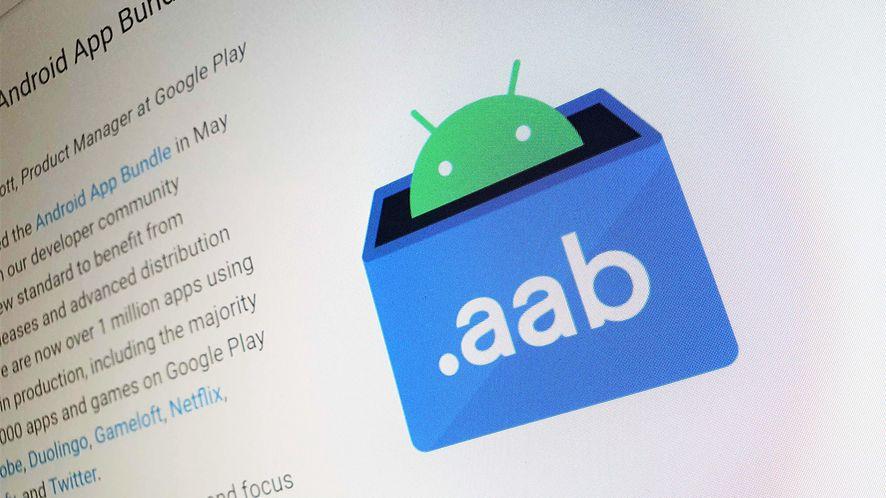 Paczki AAB na Androida