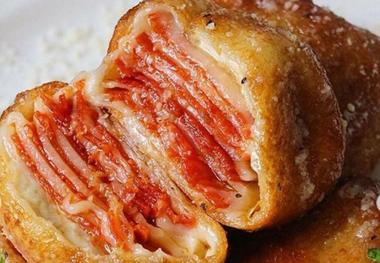 Ten przepis podbił internet. Pizza rolls nie tylko dla miłośników pizzy