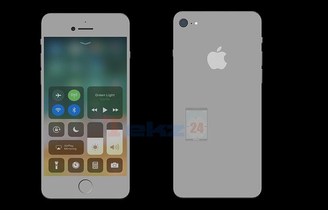 Uproszczone rendery sugerujące, jak mógłby wyglądać iPhone SE 2, źródło: tekz24.com