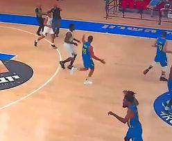 W Izraelu trwał mecz koszykówki. Zobacz reakcję koszykarzy na syreny alarmowe