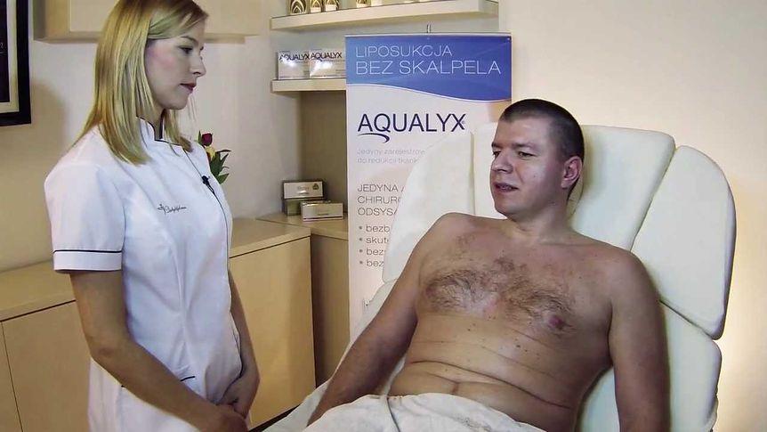 Cavilipoliza - usuwanie tkanki tłuszczowej z brzucha (WIDEO)