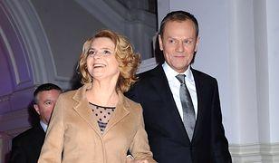 Żona Donalda Tuska zdradziła go z jego kolegą. Potem wróciła do męża