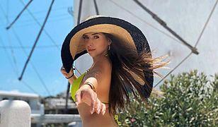 Ola Nowak w bikini. Wypoczywa w upalnej Grecji
