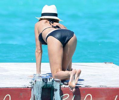 Nicole ma za szerokie majtki! Spadają