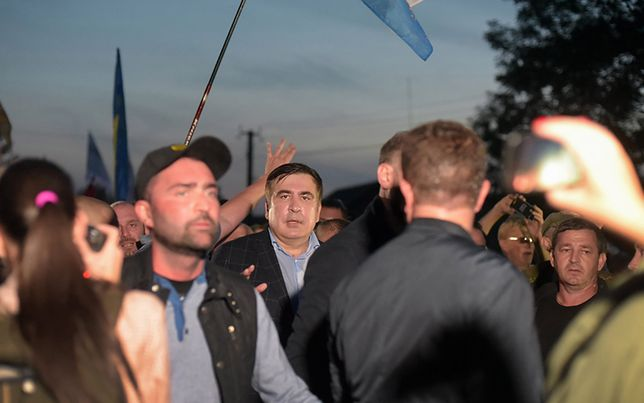 """Były prezydent Gruzji twierdzi, że jego życiu zagraża niebezpieczeństwo, ale """"wolność Ukrainy jest o wiele bardziej zagrożona"""""""