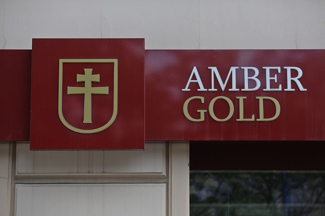 Logo amber gold