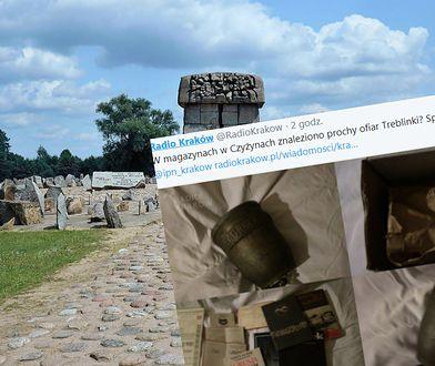 W opuszczonym magazynie znaleziono urnę, w której mogą być prochy ofiary obozu w Treblince