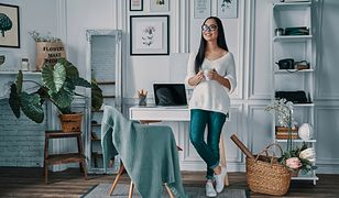 Ciekawe aranżacje biura w domu dodają motywacji do pracy