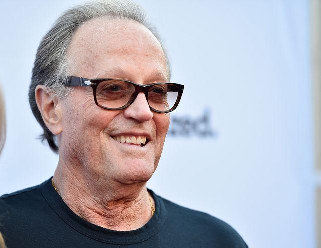 """Peter Fonda zyskał sławę dzięki roli w filmie """"Easy Rider"""""""