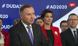 Wybory prezydenckie 2020. Andrzej Duda: bez obscenicznych gestów