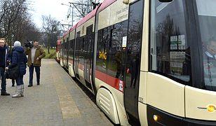 Jeden z tramwajów w Gdańsku. Zdjęcie ilustracyjne