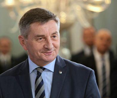 Marek Kuchciński był marszałkiem Sejmu w latach 2015–2019