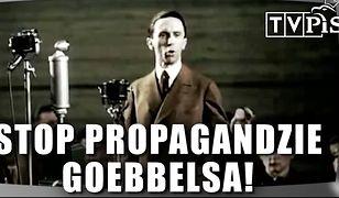 Screen z klipu Platformy Obywatelskiej nawołującego do bojkotu TVP.