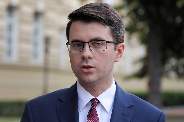 Piotr Müller mówił też o wyroku TSUE i Donaldzie Tusku