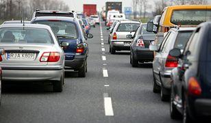 Autostrada A4. Występują poważne utrudnienia w ruchu.