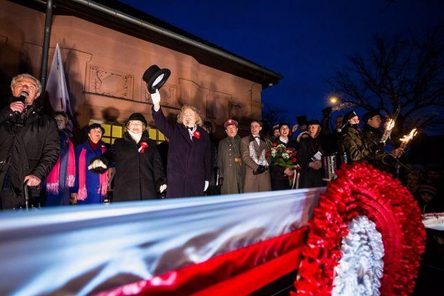 Inscenizacja przyjazdu Ignacego Jana Paderewskiego do Poznania