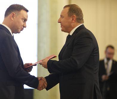 Błażej Spychalski poinformował, że Andrzej Duda spotka się w piątek z Jackiem Kurskim ws. 2 mld dla TVP