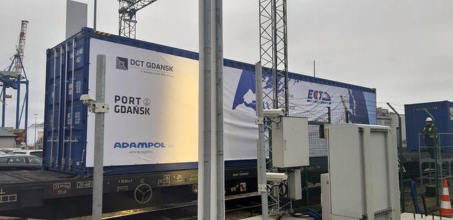 Pierwsze takie połączenie. Pociąg z Chin dotarł do Gdańska