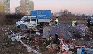 Bezdomną z Poznania, koczującą przy trasie PST, wywieziono do Gdańska