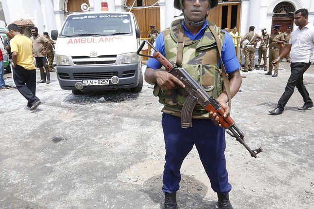 Sri Lanka. Wśród poszkodowanych mogą być zagraniczni turyści