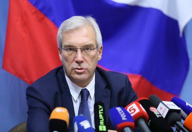 Aleksandr Gruszko odniósł się do możliwej budowy amerykańskiej bazy w Polsce