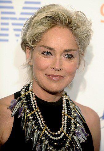 Sharon Stone przyleciała do Polski