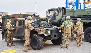Oddziały USA przebywają w Polsce rotacyjne, a podczas wymiany jednostki przemieszczają przede wszystkim autostradami