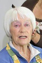 "Alina Janowska na planie ""Plebanii"""