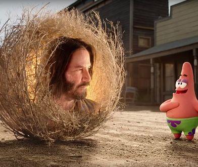 Keanu Reeves pojawi się w najnowszym filmie ze świata SpongeBoba