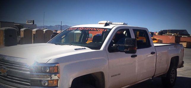 Pick-up, który uratował życie ofiarom strzelaniny w Las Vegas
