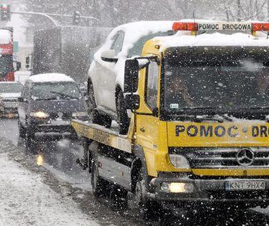 8 kardynalnych błędów kierowców podczas zimy