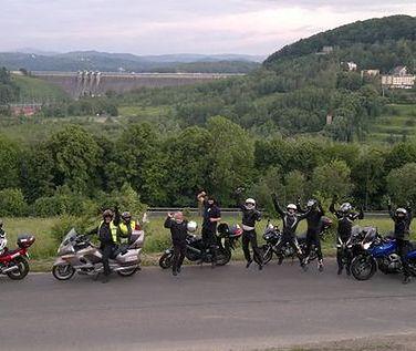 Motocykliści w podróży dookoła Polski