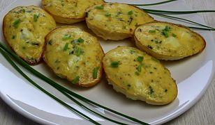 Zapiekane jajka w foremkach