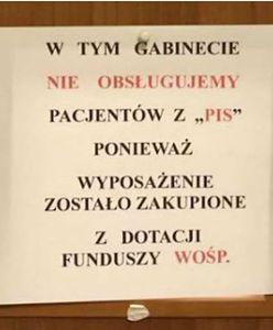 """Lekarz z Gdyni """"nie chciał przyjmować pacjentów z PiS"""". Teraz tłumaczy: to miał być żart"""