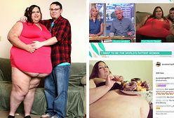 Kobieta, która chce ważyć 450 kg wystąpiła w telewizji śniadaniowej. Widzowie nie zostawili na niej suchej nitki