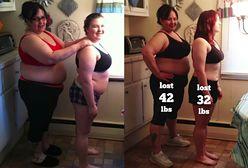Matka i córka podjęły walkę ze swoją nadwagą. Zobacz jak się zmieniły po 100 dniach zbilansowanej diety