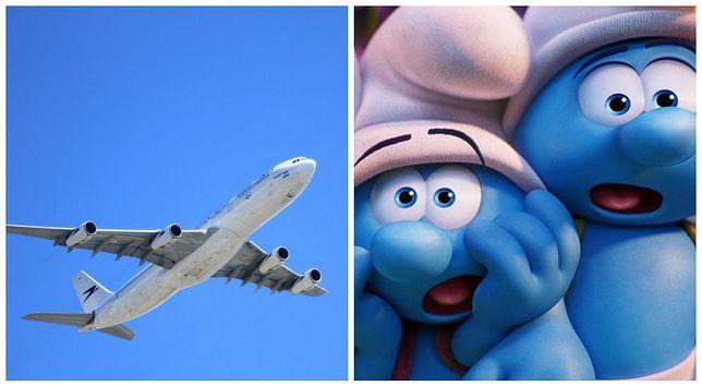 """Linie lotnicze będą miały """"smerfowy"""" samolot. Tak zdecydowano w konkursie"""
