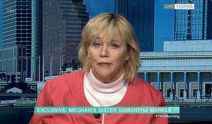 Samantha Markle obwinia swoją siostrę Meghan Markle. Ma żal, że porzuciła królewskie życie