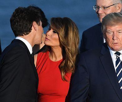 """Melania Trump, Justin Trudeau i """"romantyczny"""" pocałunek. Ekspertka od mowy ciała komentuje"""